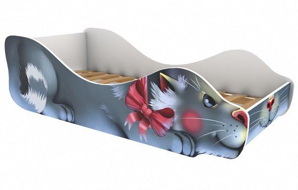 Детская кровать Кошка-Мурка