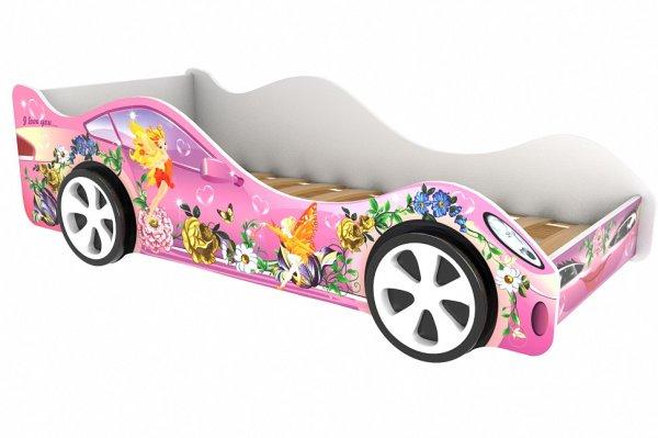 Детская кровать-машина Фея