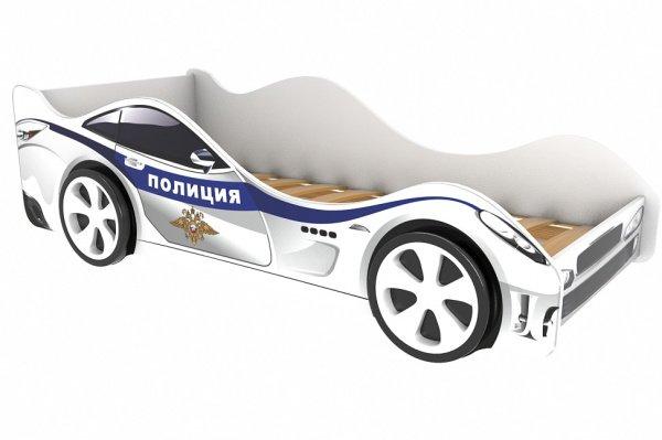 Детская кровать-машина Полиция