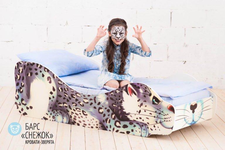 Детская кровать Барс-Снежок