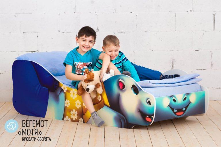 Детская кровать Бегемот-Мотя