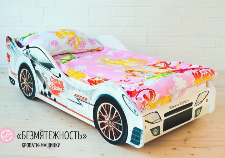 Детская кровать-машина Безмятежность