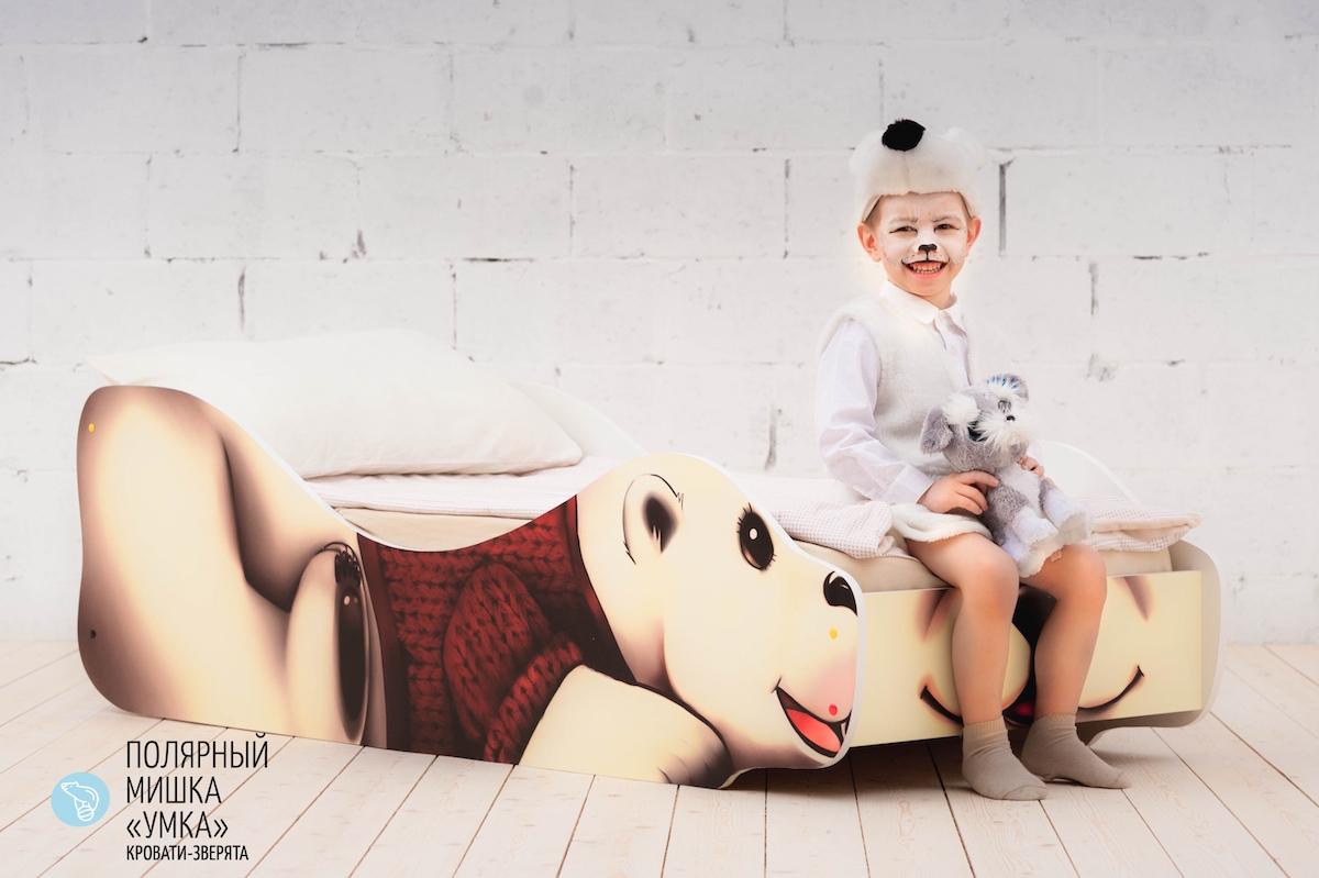 Детская кровать Полярный Мишка-Умка