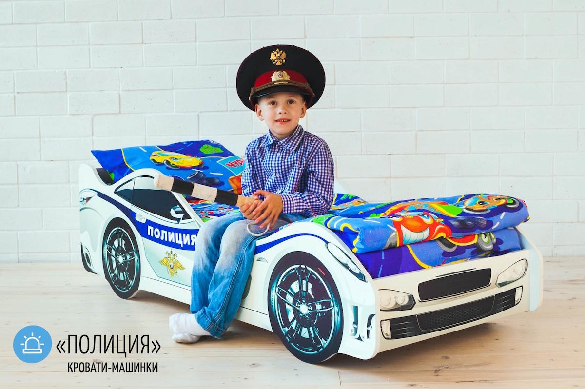 Детская кровать Полиция