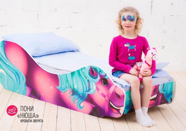 Детская кровать Пони-Нюша