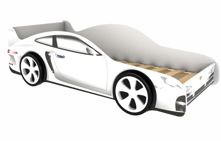 Детская кровать-машина Porsche