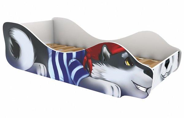 Детская кровать Волчонок-Пират