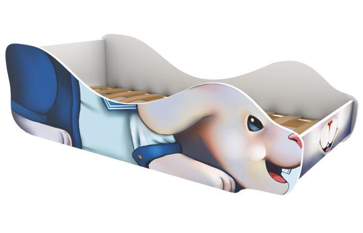 Детская кровать Зайчик-Морячок