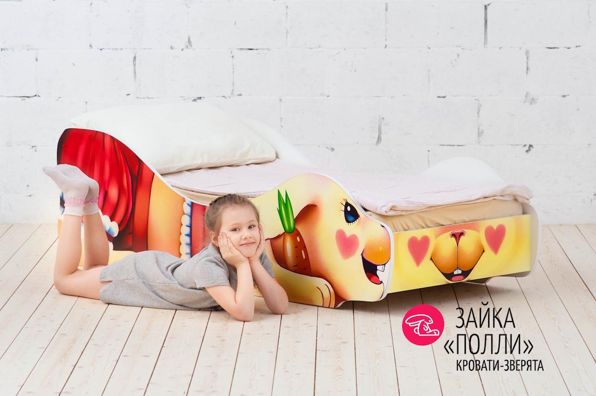 Детская кровать Зайка-Полли