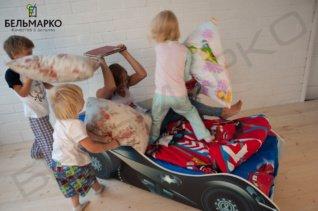 Кроватки-машинки «Бельмарко» в детских спальнях Екатеринбурга