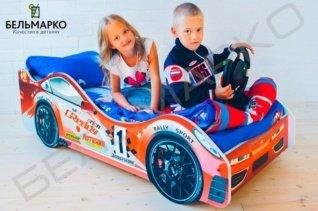 кровати машины для мальчиков от трех лет