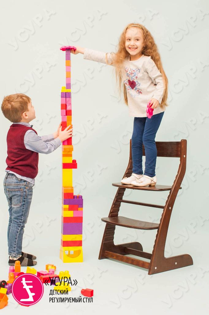 Детский регулируемый стул Усура