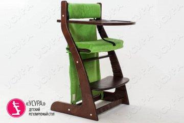Мягкое основание для растущего стула зеленое