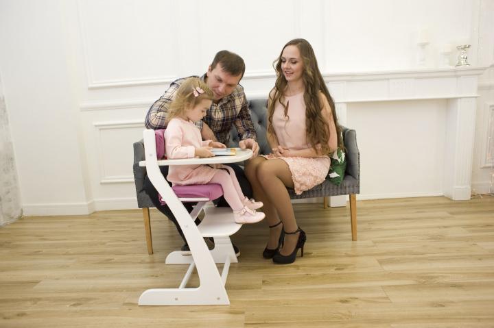 Детский столик для кормления Белый