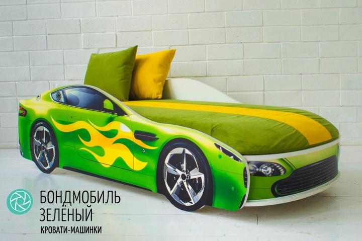 Подушки желтая и зеленая