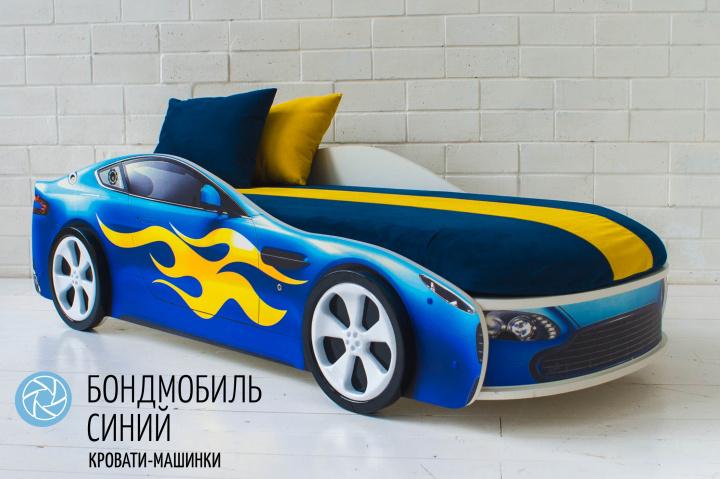 Подушки синяя и желтая