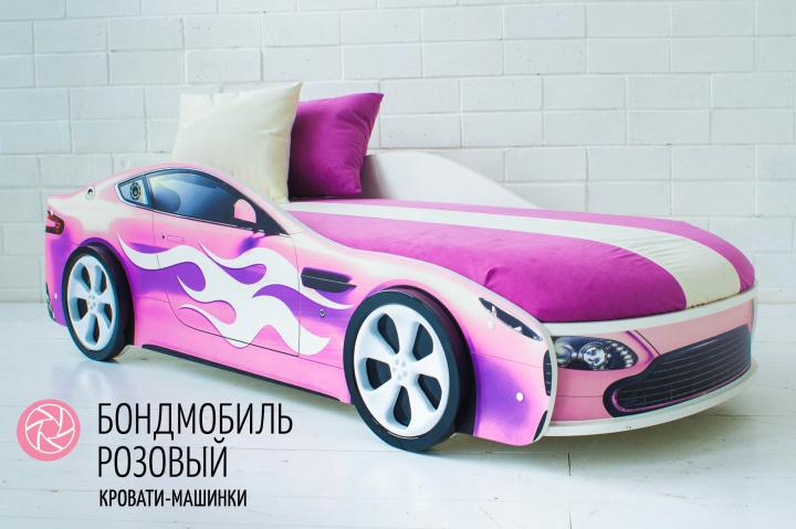 Подушки для кроватки белая и розовая