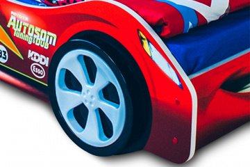 Пластиковые колеса для кроватей-машин