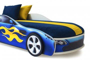 Цветные чехлы для кроватей-машин Бондмобиль