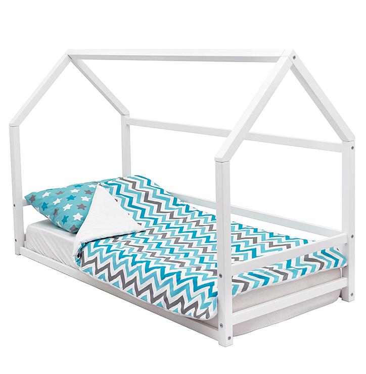 Детская кровать-домик Монтессори Бельмарко «Svogen» белый