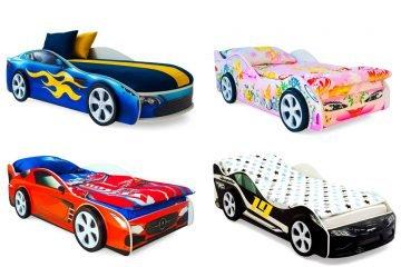 Все кроватки-машины