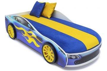 Цветные чехлы для кроватей-машин