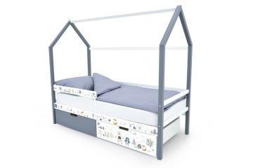"""Кровати-домики """"Svogen"""" с фотопечатью"""