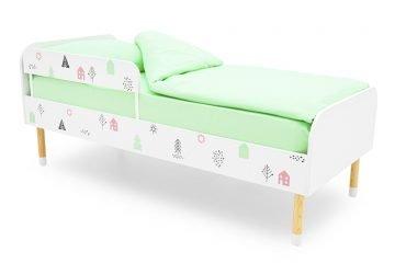 Односпальные классические кровати из ЛДСП